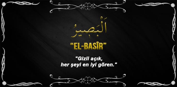 Allah(cc)'nun El-Basîr Sıfatı