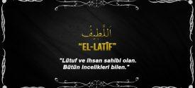 Allah(cc)'nun El Latîf Sıfatı