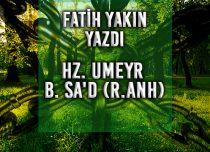 Hz. UMEYR B. SA'D (R.ANH)