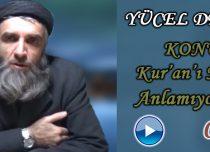 Yücel DEMİR Konu: Kur'an'ı Neden Anlayamıyoruz ? – Tevhid