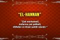 Allah (c.c)'nun El-Hannan Sıfatı