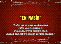 Allah (c.c)'nun En-Nasir Sıfatı