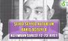 ŞEHİD SEYYİD KUTUB'UN BAKIŞ AÇISIYLA ALİ İMRAN SURESİ 72-73. AYET
