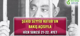 ŞEHİD SEYYİD KUTUB'UN BAKIŞ AÇISIYLA HİCR SURESİ 21-22. AYET