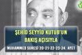 ŞEHİD SEYYİD KUTUB'UN BAKIŞ AÇISIYLA MUHAMMED SURESİ 20-21-22-23-24. AYET