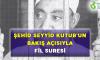 ŞEHİD SEYYİD KUTUB'UN BAKIŞ AÇISIYLA FİL SURESİ