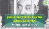 ŞEHİD SEYYİD KUTUB'UN BAKIŞ AÇISIYLA KIYAMET SURESİ 16-25