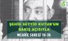 ŞEHİD SEYYİD KUTUB'UN BAKIŞ AÇISIYLA MEARİC SURESİ 19-35