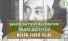 ŞEHİD SEYYİD KUTUB'UN BAKIŞ AÇISIYLA MEARİC SURESİ 36-44