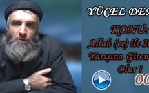Allah (cc) ile Hudud Yarışına Giren Zelil Olur !