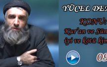 Yücel DEMİR Konu: Kur'an Ve Sünnette iyi ve kötü kimdir ?