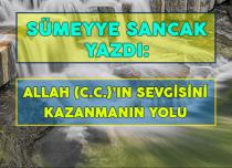 ALLAH (C.C.)'IN SEVGİSİNİ KAZANMANIN YOLU