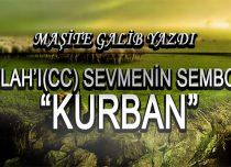 """ALLAH'I(CC) SEVMENİN SEMBOLÜ """"KURBAN"""""""
