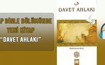DAVET AHLAKI – TEK PARÇA