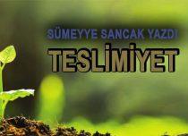 TESLİMİYET