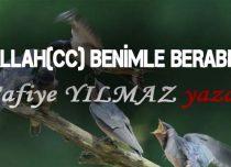 ALLAH(CC) BENİMLE BERABER