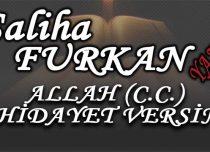 ALLAH (C.C.) HİDAYET VERSİN