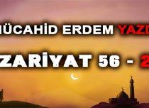 Zariyat Suresi 56. Ayet 2