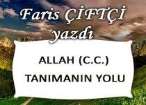 ALLAH (C.C.) TANIMANIN YOLU