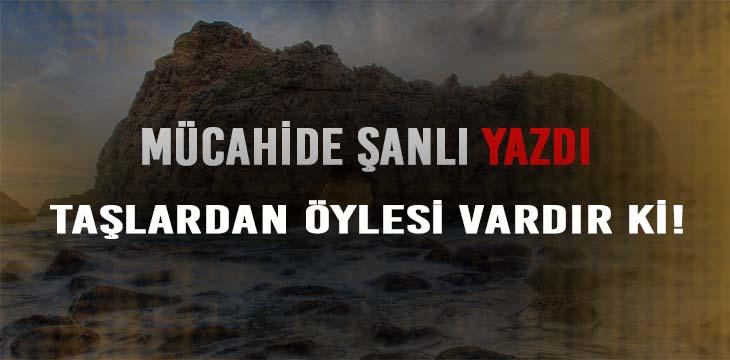 TAŞLARDAN ÖYLESİ VARDIR Kİ!