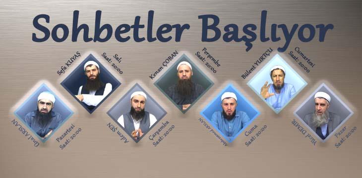 SOHBETLER BAŞLIYOR !
