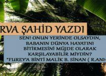 FUREY'A BİNTİ MALİK B. SİNAN ( R.ANHA)