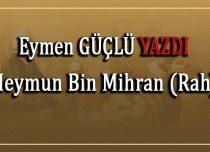 Meymun Bin Mihran (Rah)