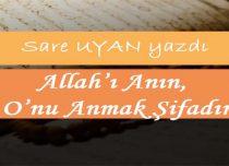 Allah'ı Anın, O'nu Anmak Şifadır