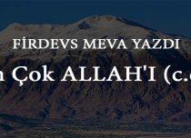 En Çok ALLAH'I (c.c.)