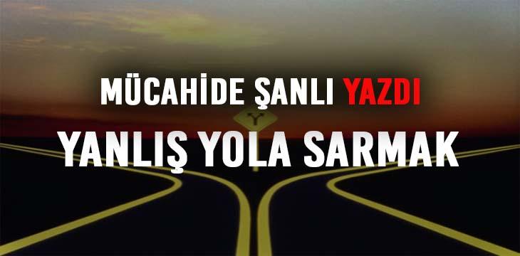 YANLIŞ YOLA SARMAK