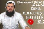 Abdussamed ARSLAN Konu: Kardeşlik Hukuku